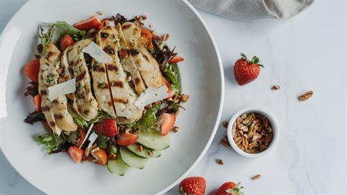 Nut & Berry Salad w/ Chicken