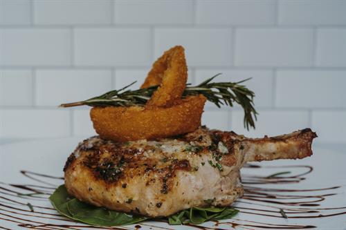 Cowboy Pork Chop