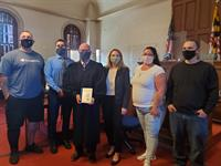 Harford County Public Library Donates Books for Adult Drug Court Graduates