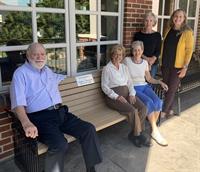Havre de Grace Library Bench Dedicated in Memory of Volunteer