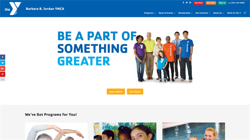 Barbara B. Jordan YMCA Website