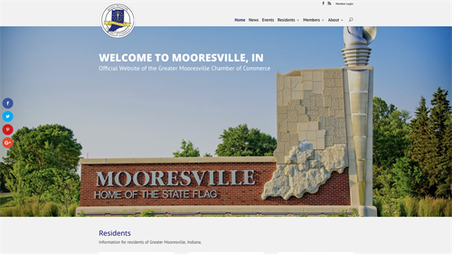 Mooresville Chamber of Commerce Website