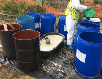 Hazardous materials clean up