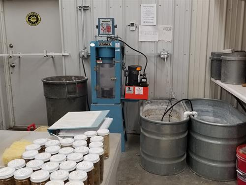 Materials testing lab