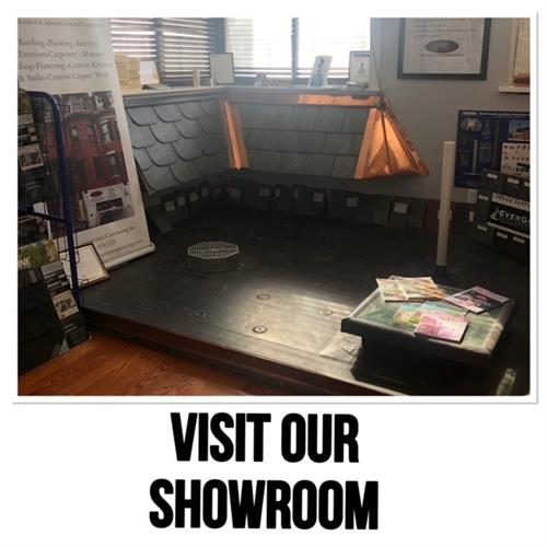 Visit our expansive showroom