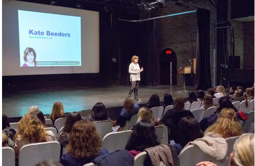 Kate Beeders keynote in Montreal, Canada