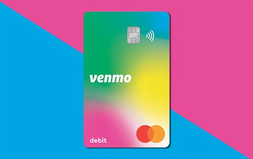Venmo Limited Edition Rainbow Debit Card