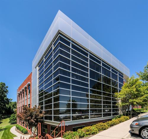 Our office at the Virginia Tech Corporate Research Center