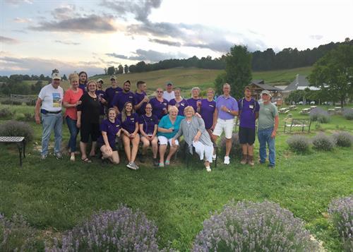 Staff After Lavender Festival