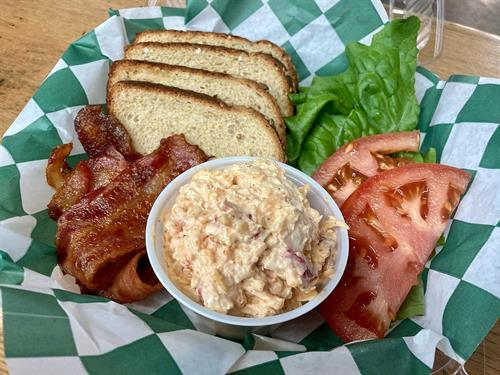 One of our Classic Dinners: Pimento BLT