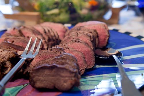 Herb Crusted Filet For Virginia Tech Chemical Engineers