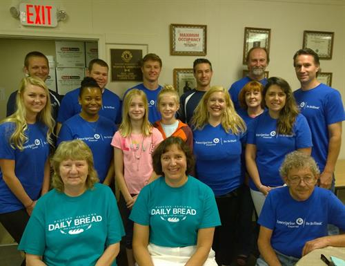 Ameriprise National Day of Service - Volunteer with Radford-Fairlawn Daily Bread