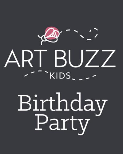 Art Buzz Kids Parties, Camps and Family Events!