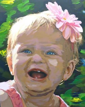 Paint your Child or Child Self-Portrait