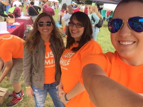 Our team at Gobblerfest on September 2, 2016