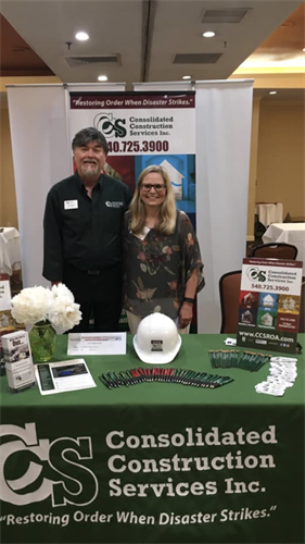 Local Trade Show Marketing Event - Consolidated Construction Services 540.725.3900