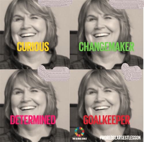Patti being a changemaker