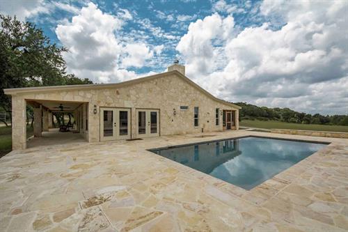 Pool and Pavilion at the Main Lodge, Rancho Madrono