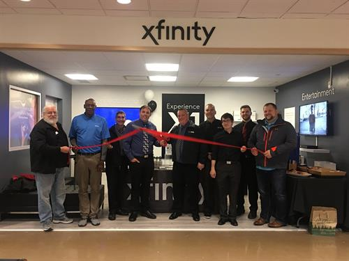 Xfinity Retailer Grand Opening and Ribbon Cutting 4/13/2019 with Bellingham Chamber