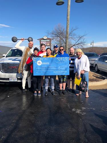 Community Aces raise over $9,700 for Special Olympics Polar Plunge!