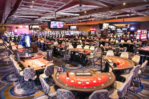 Feel the RUSH of non-stop table games and slots action at Isle of Capri Casino Hotel Boonville