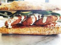 Chick Pea Fritter Sub