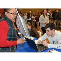 Career Fair at Pittston Area Helps Prepare Students for Future