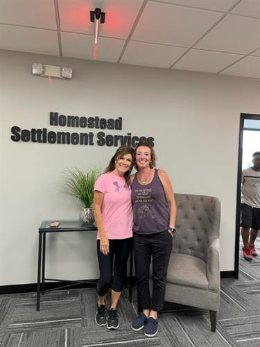 Homestead Settlement Services Moving Day!  Congrats!!!!