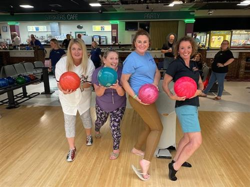 Roanoke Regional Homebuilders 2021 Bowling Bash with Homestead Settlement Services!