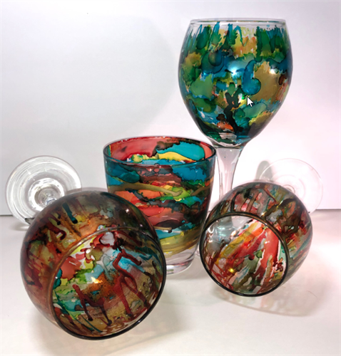 Alcohol Ink Craft Parties