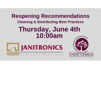 CCC WEBINAR: Reopening Cleaning & Safety Guidance with Janitronics