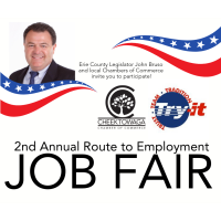 2nd Annual Route to Employment Job Fair Hosted by Erie County Legislator John Bruso