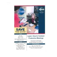 Toastmasters - Learn:  How to Conduct Productive Meetings