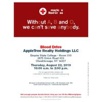 American Red Cross Missing Types Blood Drive