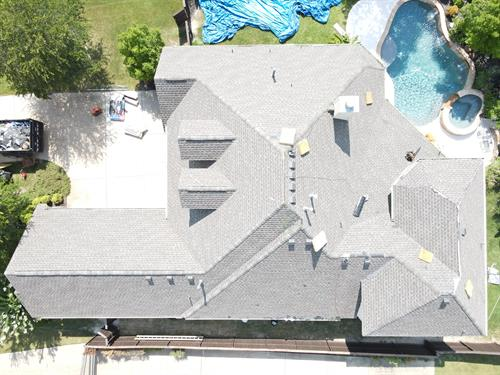 Finished total roof replacement