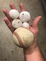 This is what the hail looked like for some of our McKinney Texas residents