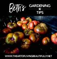 Our Resident Gardener shares Monthly Gardening Tips