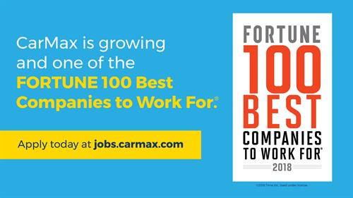 Fortune Magazine 100 Best Companies to Work For!