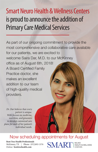 Saira Dar, M.D Primary Physican at Bent Tree Health Professionals McKinney, TX