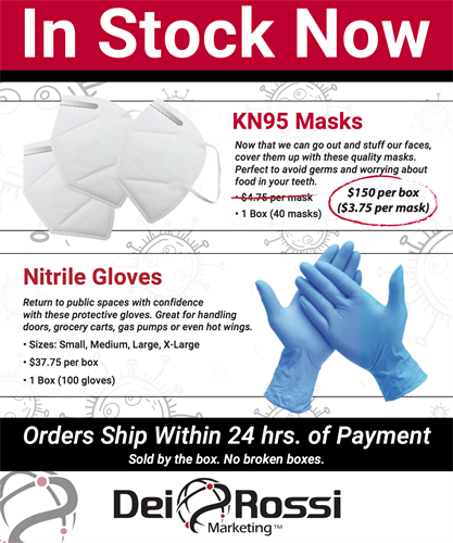 PPE Products - In Stock - Ship Ready