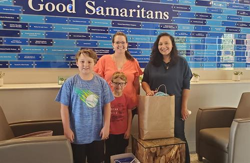 Samaritan Inn School Supply Drive