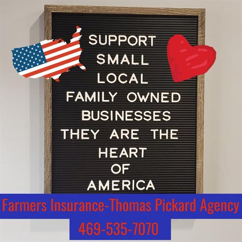 Support Local Small businesses