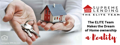 Elite Team Supreme Lending McKinney The Key to your Next Home