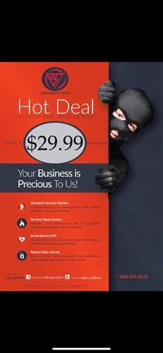 Hot Deal Flyer
