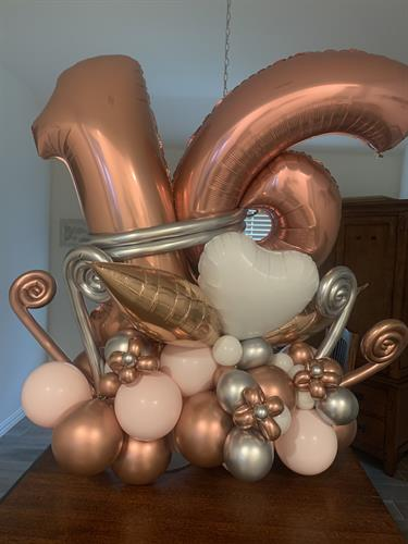 Balloon Bouquet Marque Style