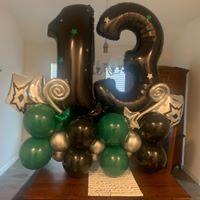 Balloon Bouquet, Marque style