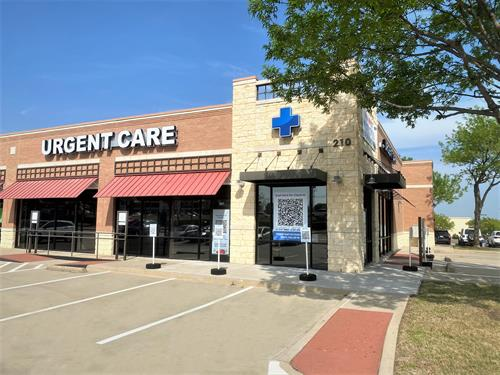 Front of McKinney Clinic
