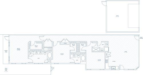 Abode - 3 bedroom/3 bathroom/2 car garage/private patio - 1968 sq.ft
