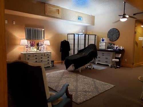 Spa Room at Lux Van Alstyne
