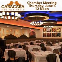 June General Meeting at Caracara Mexican Grill